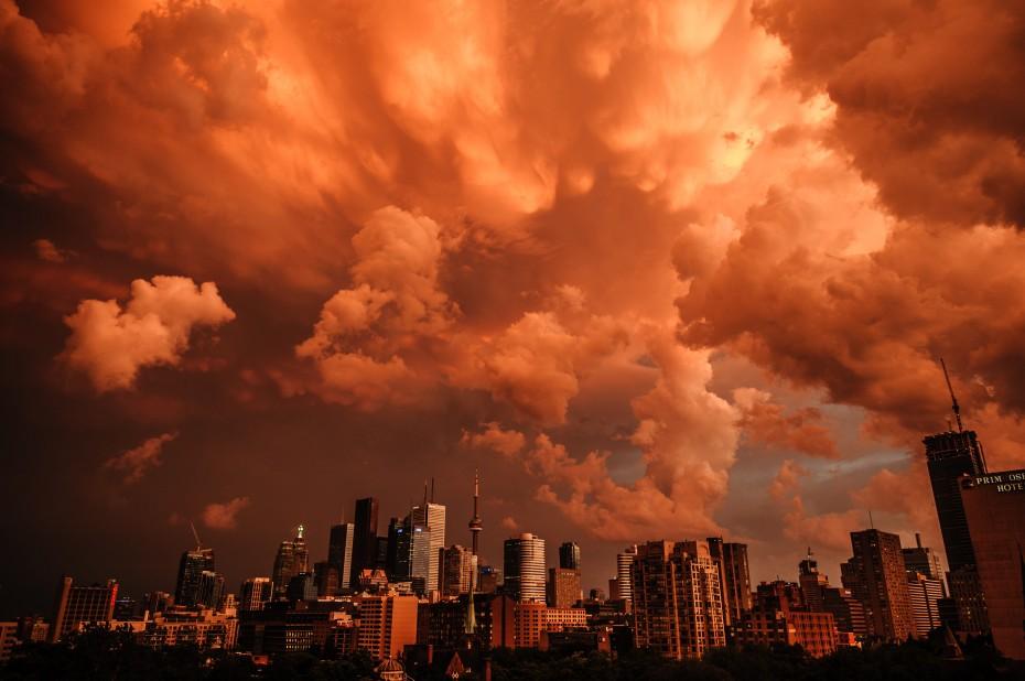 Sky Aflame I